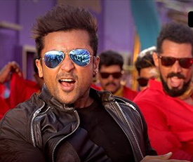 Therikkudhu Masss Song Lyrics