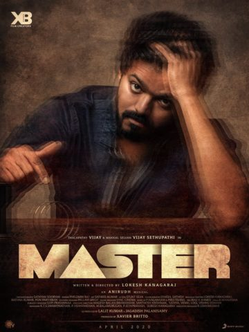 Master tamil film 2020 actor vijay in a lead role