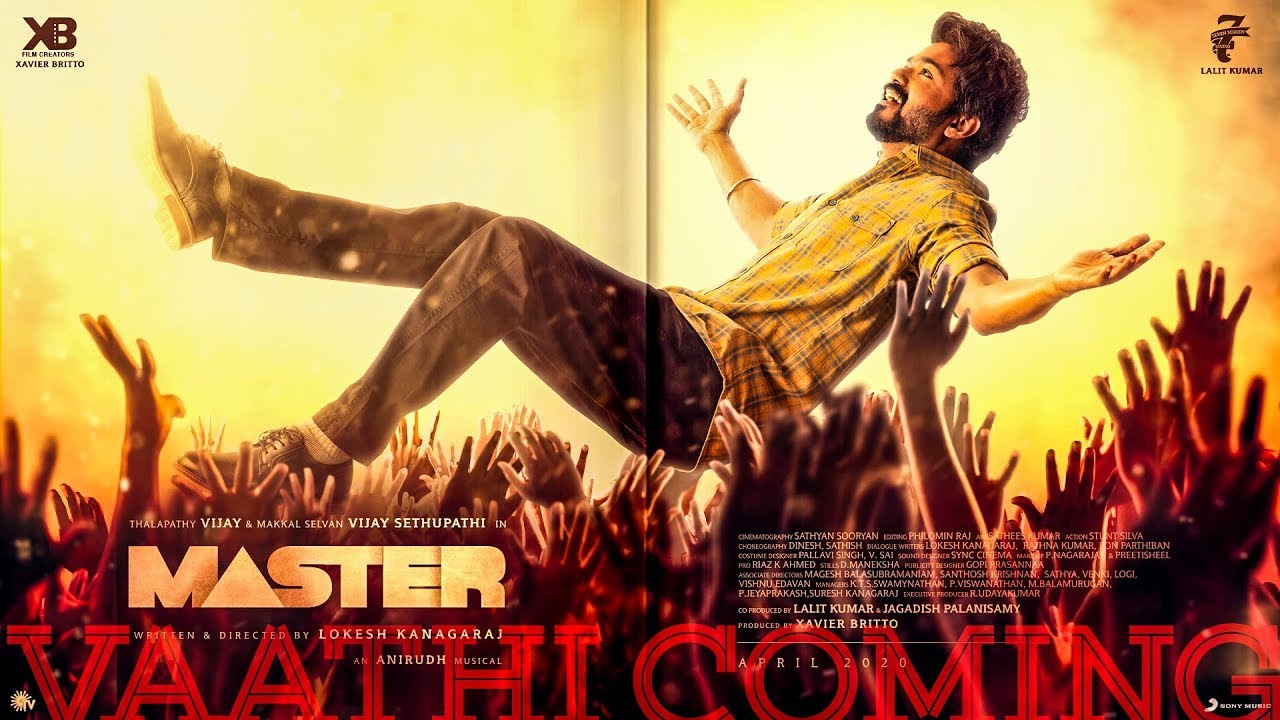 Vaathi Coming Song Lyrics