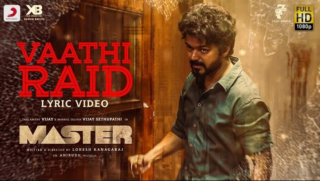 Vaathi Raid Song Lyrics