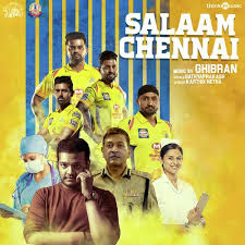 Salaam Chennai Song Lyrics