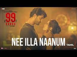 Nee Illa Naanum Song Lyrics