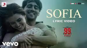 Sofia Song Lyrics